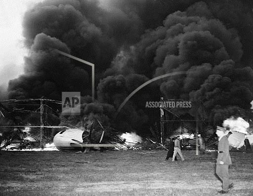 Associated Press Domestic News New Jersey United States HINDENBURG DISASTER AFTERMATH