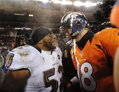 Ray Lewis, Peyton Manning