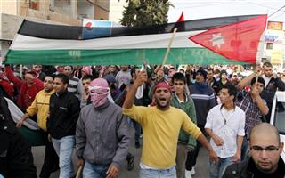 Mideast Jordan Protests