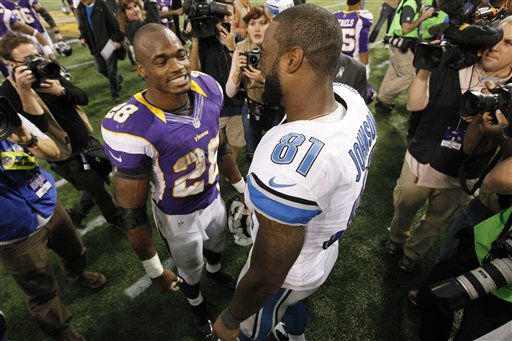 Adrian Peterson, Calvin Johnson