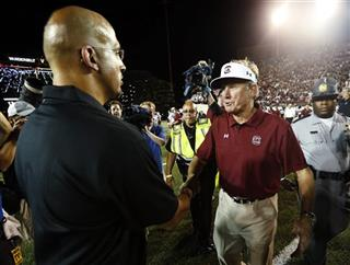 Steve Spurrier;James Franklin