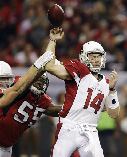 APTOPIX Cardinals Falcons Football