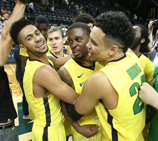 Tyler Dorsey, Elgin Cook, Dillon Brooks