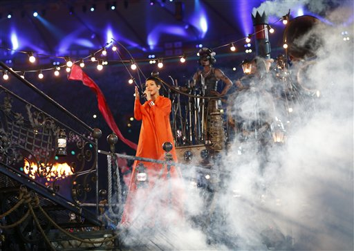 London Paralympics Closing Ceremony