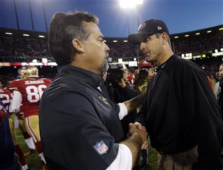 Jeff Fisher, Jim Harbaugh