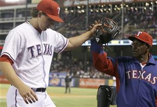 Derek Holland, Ron Washington