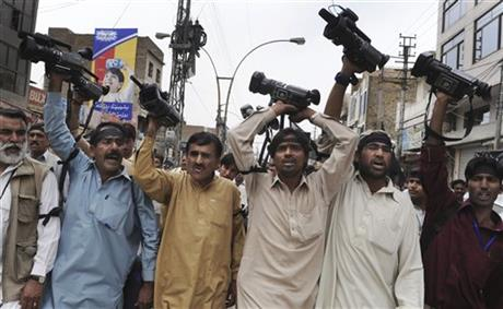 Pakistan Journalists Under Fire