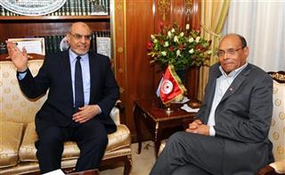 Moncef Marzouki, Hamad Jebali