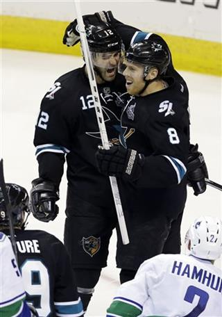 Joe Pavelski, Patrick Marleau