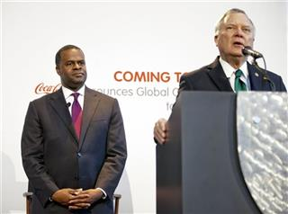 Nathan Deal, Mayor Kasim Reed