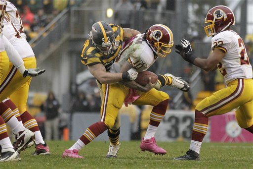 Redskins Steelers Football