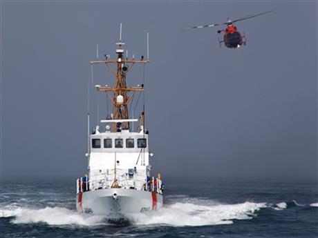 CORRECTION Coast Guard Death