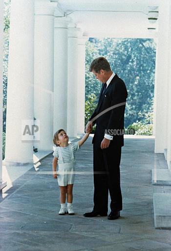 Associated Press Domestic News Dist. of Columbia United States KENNEDY FATHER SON