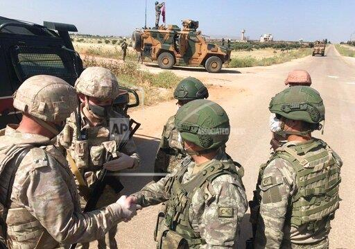 Syria Russia Turkey Joint Patrol