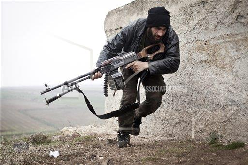 Mideast Syria Rebel Training
