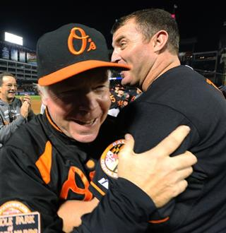 Buck Showalter, Jim Thome