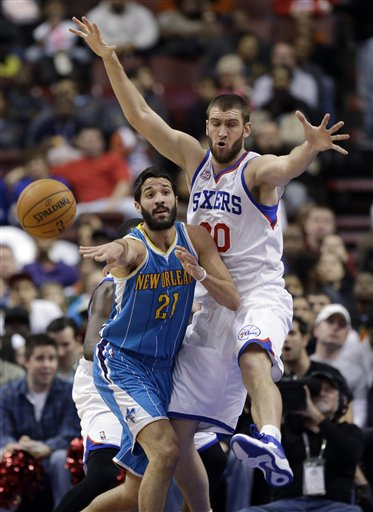 Greivis Vasquez, Spencer Hawes