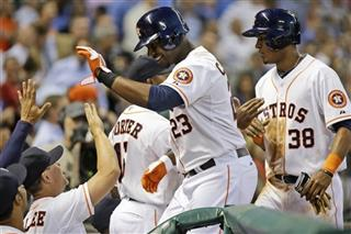 Chris Carter, Jimmy Paredes
