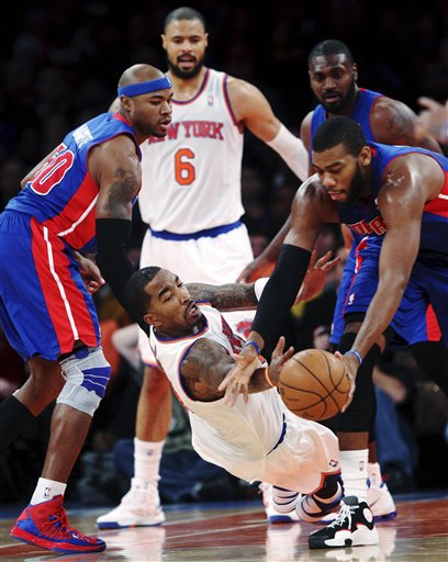 J.R. Smith, Greg Monroe,  Corey Maggette,Tyson Chandler