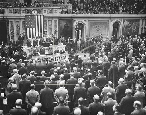 Watchf Associated Press Domestic News  Dist. of Col United States APHS126501 Congress Convenes Over Banking Crisis 1933