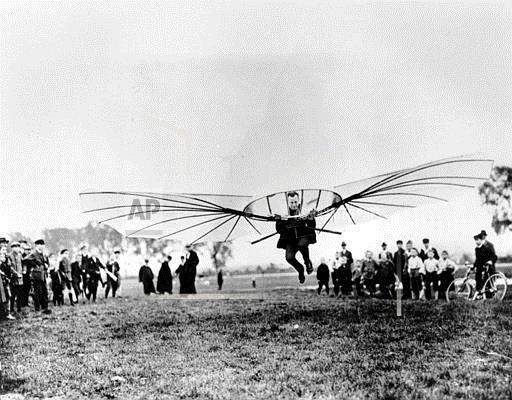 Associated Press International News Germany RICHTER LILIENTHAL GLIDER