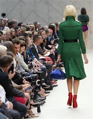 Britain Fashion Week Burberry Prorsum