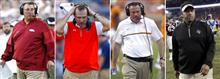 SEC Coaches Hotter Seats Football