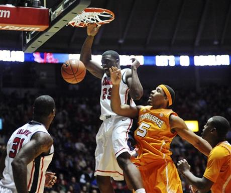 Tennessee Mississippi Basketball