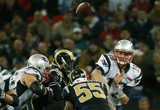 Patriots Rams Britain Football