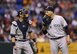 Francisco Cervelli, Andy Pettitte