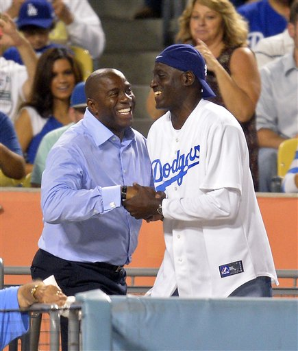 Eravin Magic Johnson, Michael Cooper