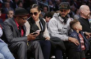 Spike Lee, Alicia Keys, Swizz Beatz, Egypt