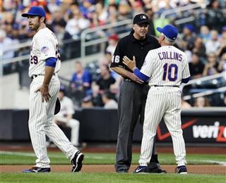 Terry Collins,  Ron Kulpa,  Ike Davis