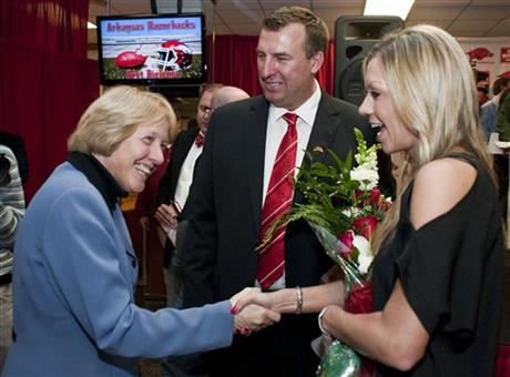 Bev Lewis, Jen Bielema, Bret Bielema