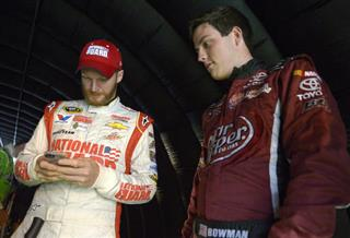 Dale Earnhardt Jr., Alex Bowman