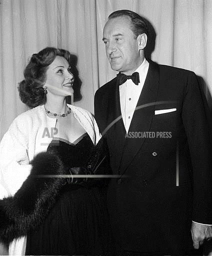 Associated Press Domestic News California United States Entertainment ZSA ZSA AND THIRD HUSBAND 1951