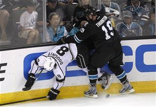 Joe Thornton, Drew Doughty