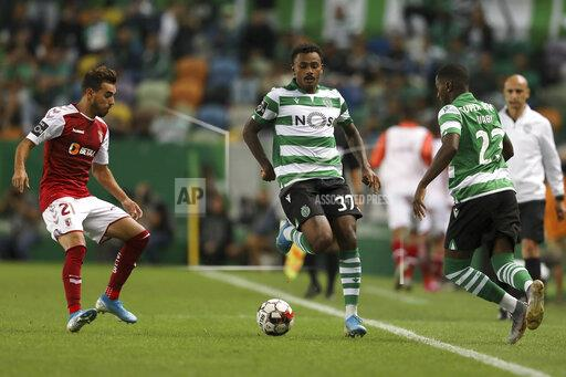 Sporting CP Vs SC Braga in Lisbon, Portugal - 18 Aug 2019