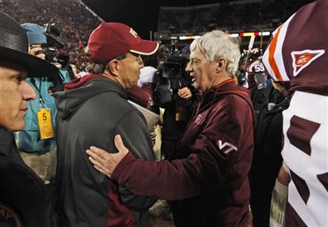 Jimbo Fisher, Frank Beamer