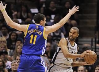 Tony Parker, Klay Thompson