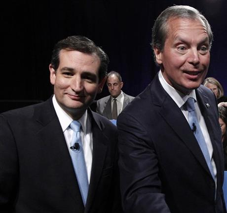 Ted Cruz, David Dewhurst