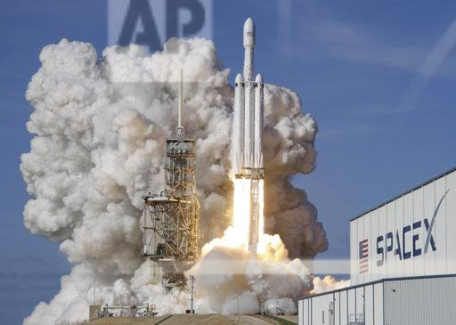 SpaceX New Rocket Launch