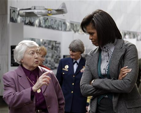 Michelle Obama, Wilma L. Vaught