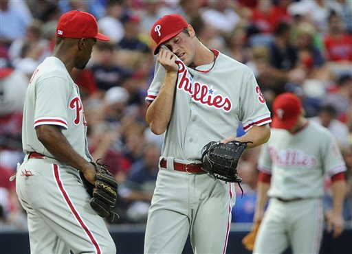 Cole Hamels, Ryan Howard