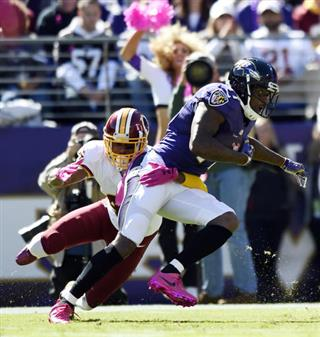Redskins Ravens Football