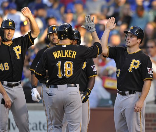 Garrett Jones, Travis Snider, Neil Walker