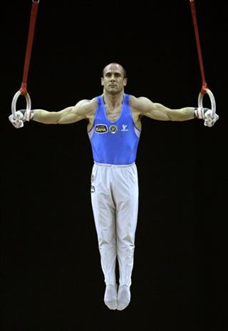 Britain Olympics Gym Test Event