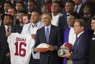 Barack Obama, Nick Saban