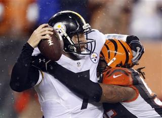 Andrew Whitworth, Ben Roethlisberger