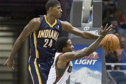 Paul George, Brandon Jennings